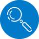 Blue-icon-magnifying-glass